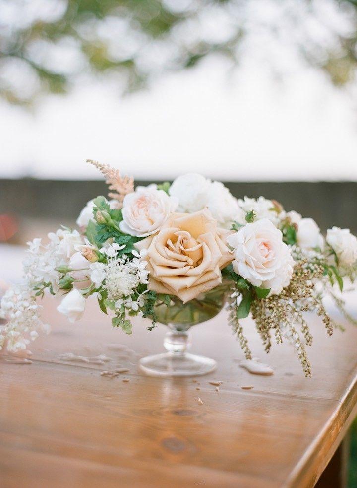 Gorgeous wedding centerpiece idea; photo: Silvana Di Franco
