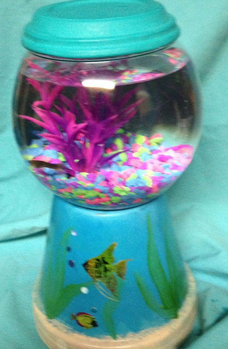 21 best betta fish bowls images on pinterest fish tanks for Betta fish mirror