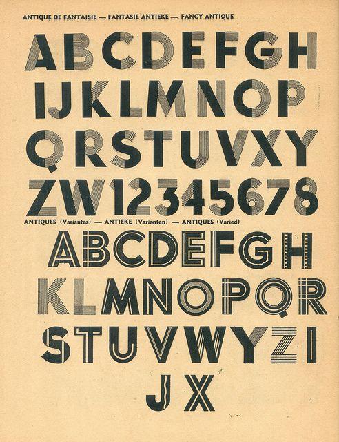 Vintage type
