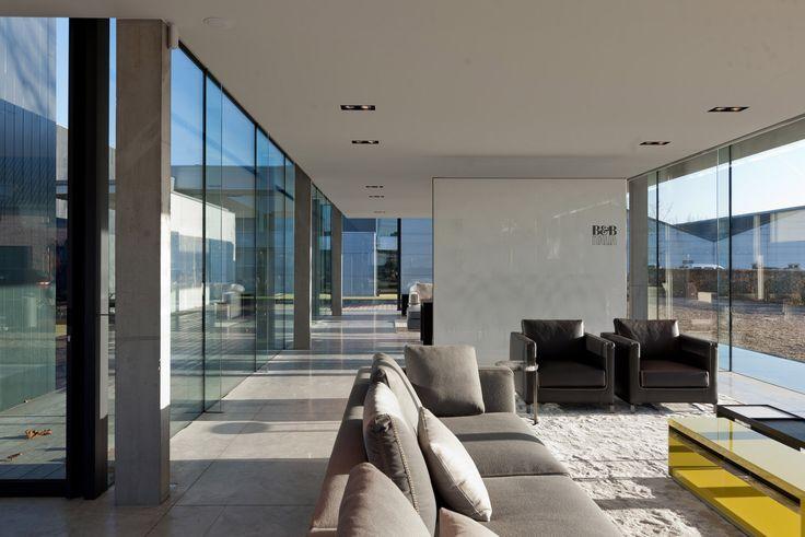 Obumex Outside, Belgium, Govaert & Vanhoutte Architects, minimalist, showroom