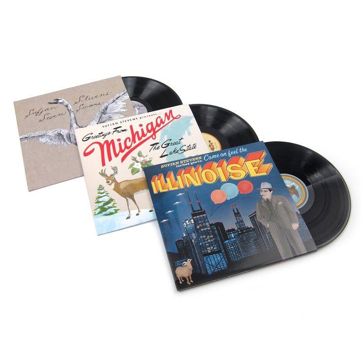 Sufjan Stevens: 2003-05 Vinyl LP Album Pack (Seven Swans, Michigan, Illinois)