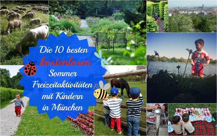 Die 10 besten kostenlosen Sommer Freizeitaktivitäten für Kinder in München