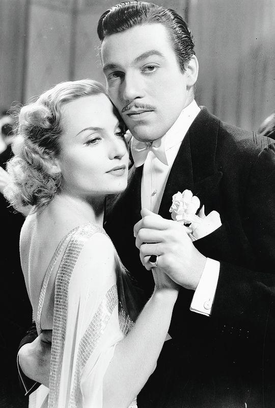 Carole Lombard and Cesar Romero in Love Before Breakfast (1936)