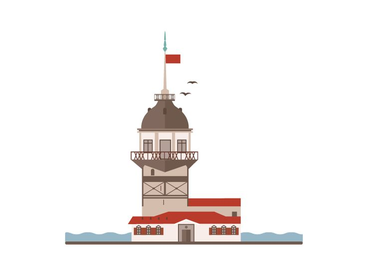Landmarks of Istanbul - Maiden Tower