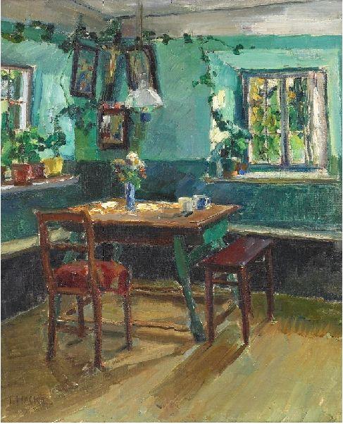 Ida Schilling-Hacke (1875-?) - Herrgottswinkel