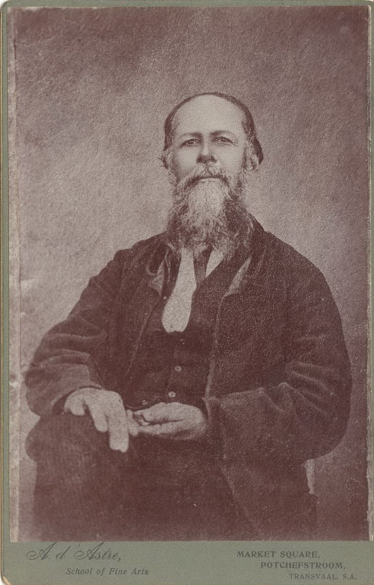 Francois Jacobus du Toit, a Trekboer and first pioneer to farm on the later site of the Voortrekker town of Potchefstroom