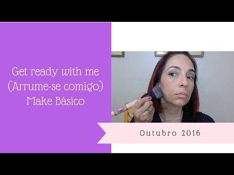 """Get Ready With Me (Arrume-se comigo) - Make de """"quase sempre"""" Vídeo onde mostro o passo a passo da maquiagem que costumo usar quase sempre. https://youtu.be/w6_0GcwgzR0"""