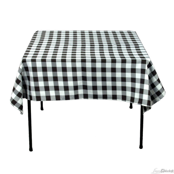 Black And White Checkered Tablecloth   Google Search