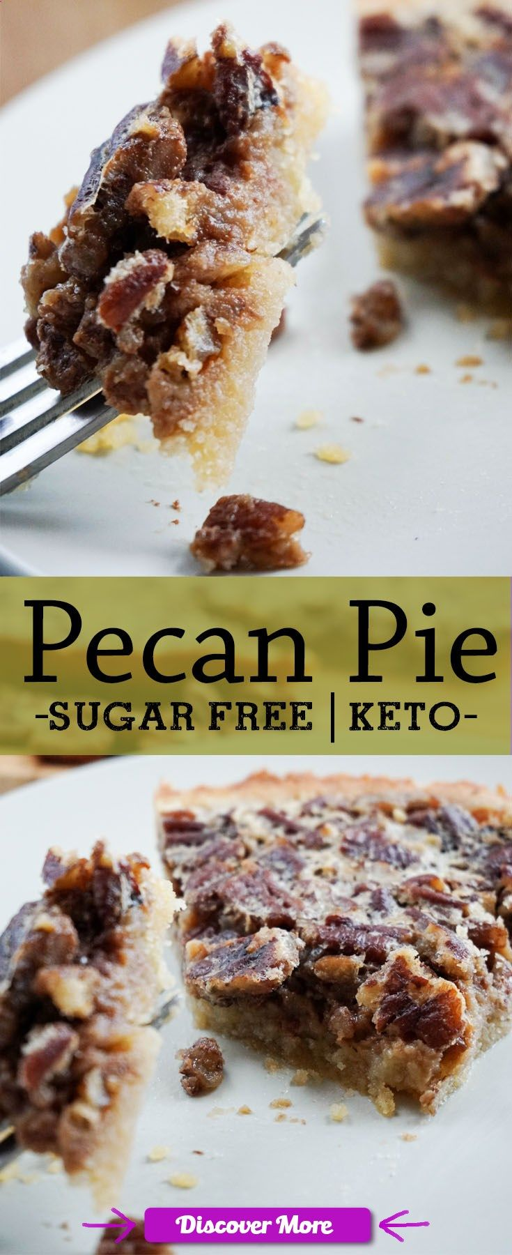 A Guilt Free, Low Carb Pecan Pie at last!