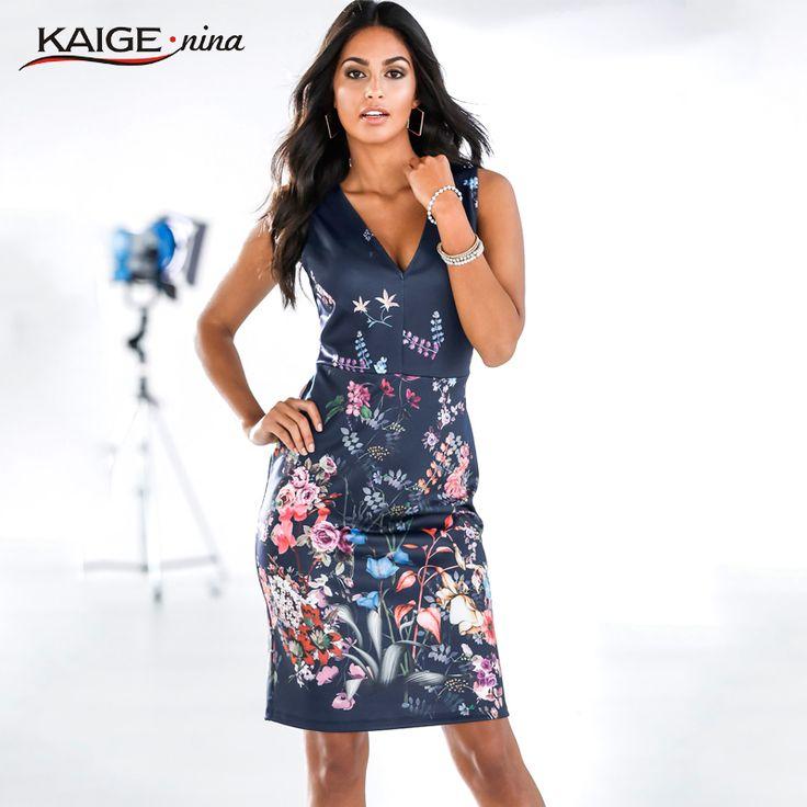 cool 2017 Mini Fashion Leisure Summer Dress Personality Dresses Hot Sale Women Apparel High-Quality Printing V-Neck Sleeveless 1814