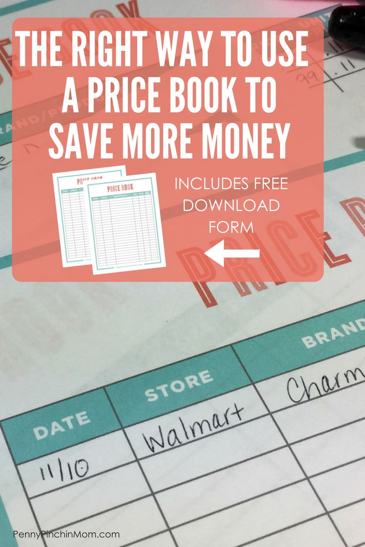 How To Create A Price Book So You Can Get The Best Deals