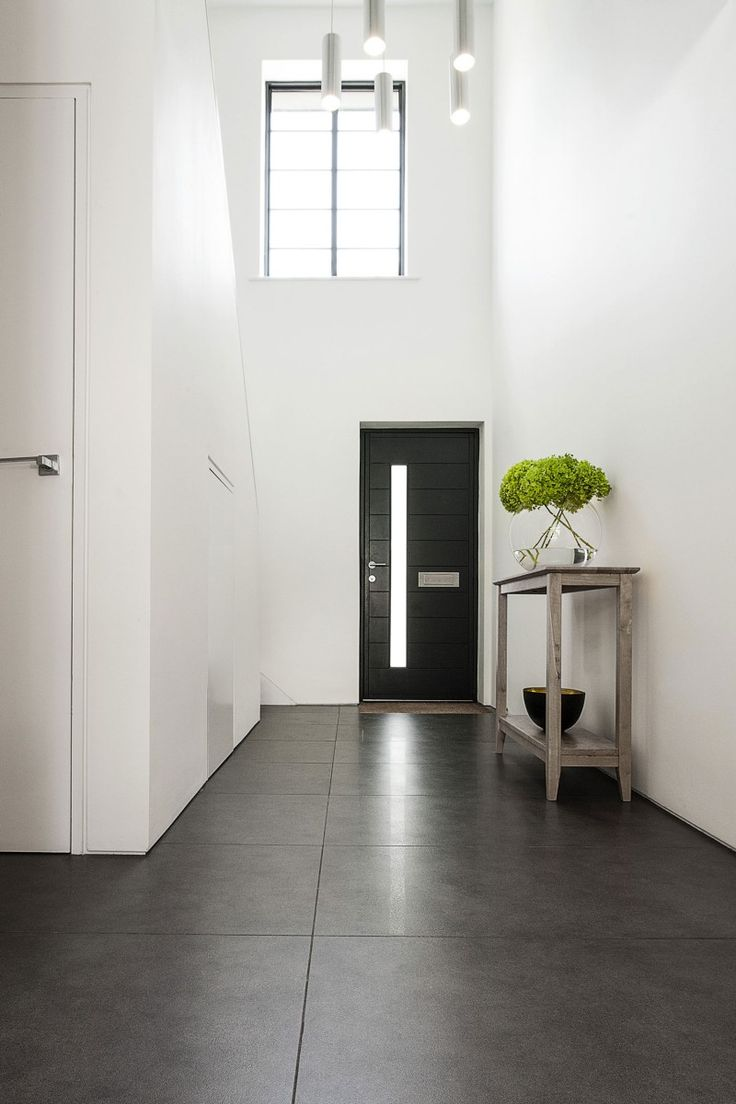 Best 25 concrete floors ideas on pinterest polished - Grey wood floors modern interior design ...