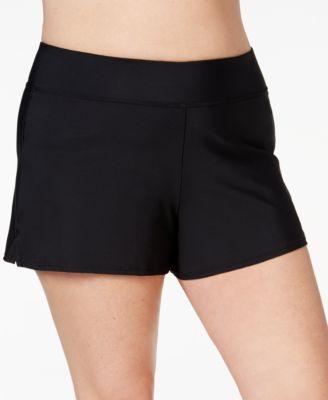 Swim Solutions Plus Size Swim Shorts