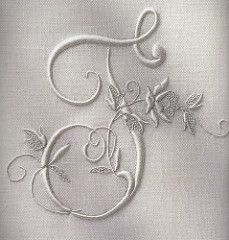 Embroidered initial | by Townmouse