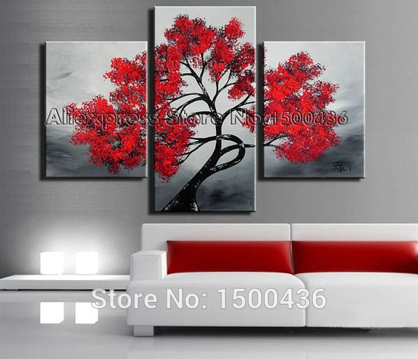 M s de 1000 ideas sobre pinturas de arte moderno en for Decoracion hogar aliexpress