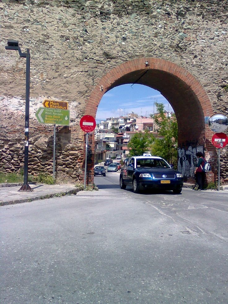 View of the area Kastra-Ano Poli