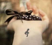 : Tattoo Ideas, Music Note, Treble Clef, Tattoos, Piercing, Tattoo'S, Music Tattoo, Tatoo, Ink