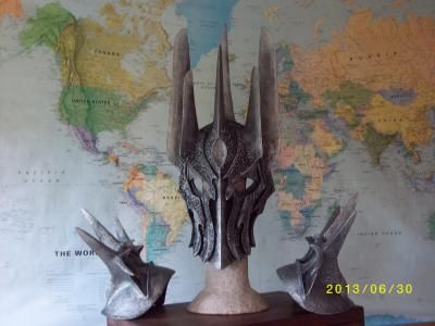 """""""Sauron"""" by Miranda Rook posted in The PapierMache Resource gallery"""