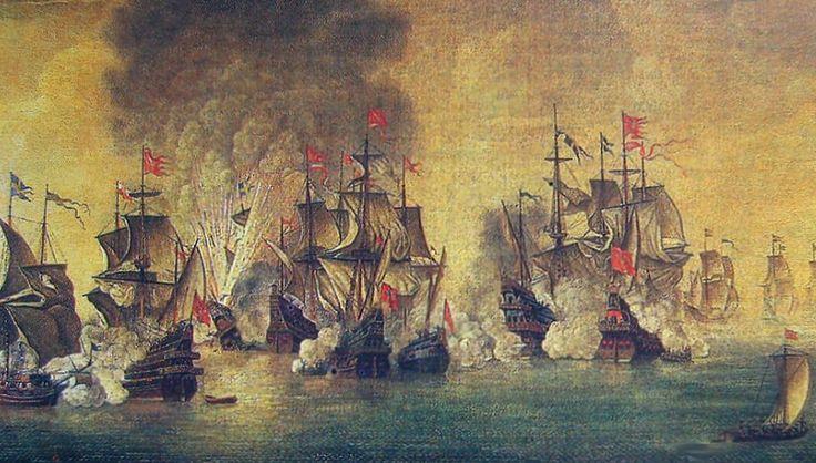 28 listopada 1627 r. Polacy pokonali Szwedów w bitwie morskiej pod Oliwą. Od połowy 1627 r. silna eskadra szwedzkich okrętów zablokowała Gdańsk, chcąc ekonomiczną blokadą załamać handel Rzeczypospolitej. Wskutek liczebnej i ogniowej przewagi nieprzyjaciela polska flota nie próbowała nawet prz