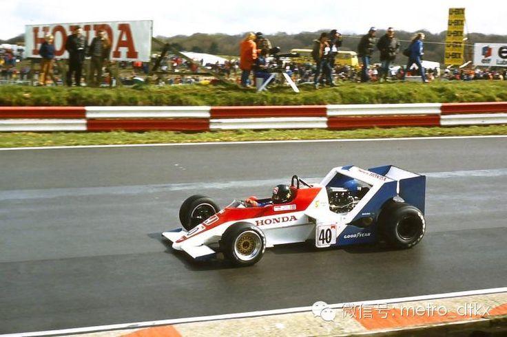1983 Spirit 201C - Honda (Stefan Johansson)