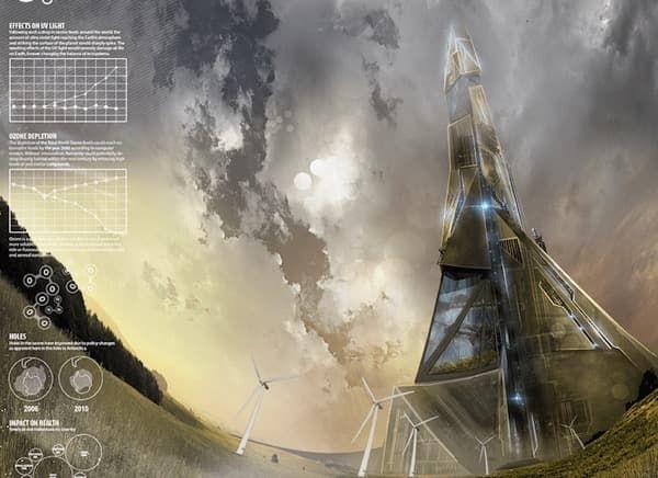 Tall Tower: ¿15 kilómetros es lo máximo?. Tall Tower es el proyecto de la estructura más alta posible. Esta idea surgió de un escritor de ciencia ficción, que se asoció con ingenieros y científicos. El novelista Neal Stephenson quiso saber qué tan alto se podría llegar a construir, entonces preguntó a expertos de la Universidad Estatal de Arizona, para encontrar el diseño de estructura más alta que se podría construir.  #Arquitectura, #Vídeos