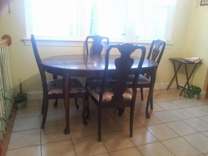 Kitchen Table In Alberts Garage Sale Hampstead MD For 200 Beautifull