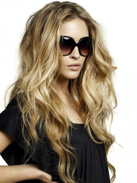 waves: Hairstyles, Hair Styles, Long Hair, Waves, Makeup, Big Hair, Beauty, Hair Color
