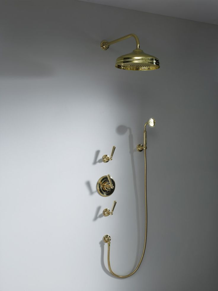 Soho concealed shower with hand shower