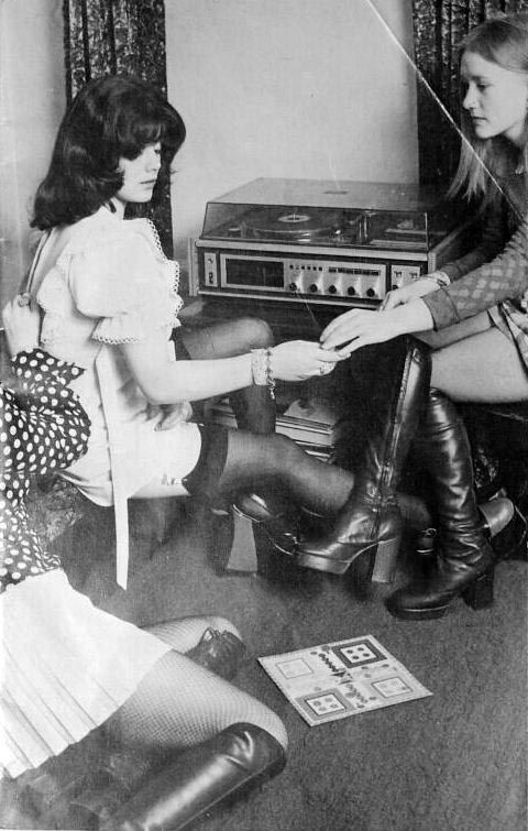 Retrospace: Mini Skirt Monday #95: Minis and Boots | lets ...