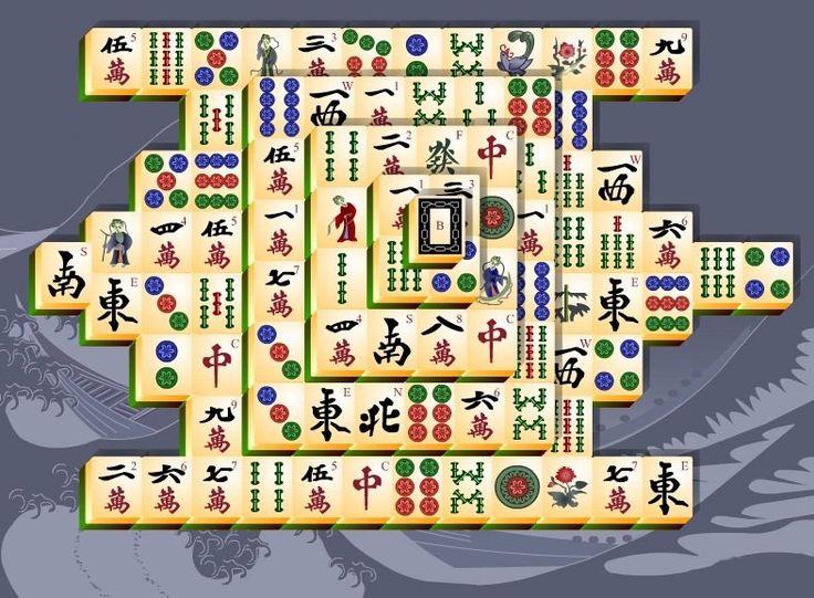 Great Mahjong Mahjong tiles, Mahjong, Mahjong puzzle