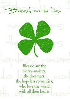 Blessed are the Irish ~