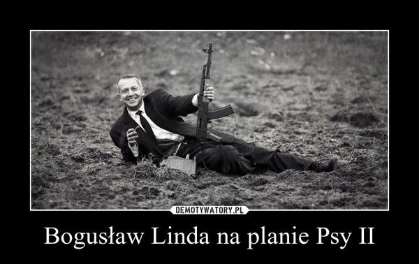 Bogusław Linda na planie Psy II –