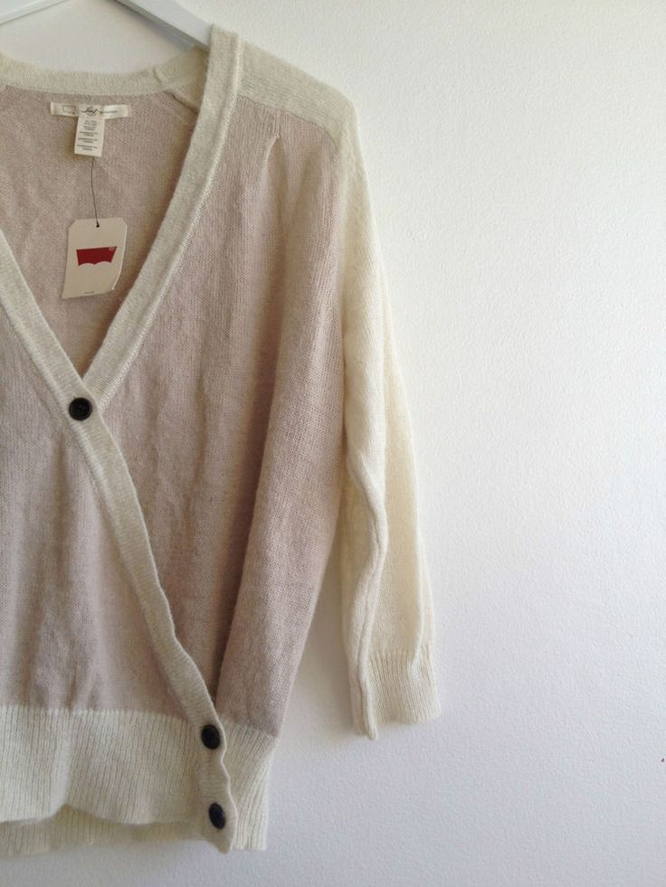 Brand New - Ladies #Levis #Mohair Wool Winter Cardigan Jacket - XL  Now Selling! Click through to go to eBay auction.