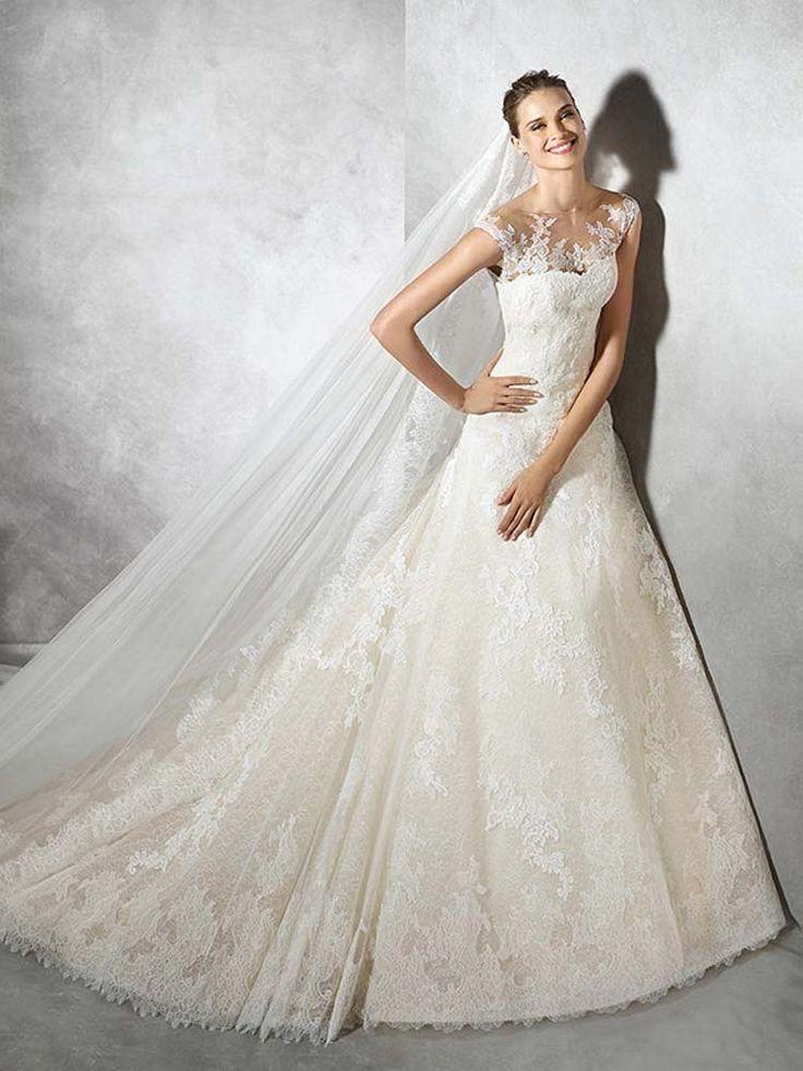 #Sale #WeddingDress #Pronovias #Tamia www.prudencegowns.com/sale/
