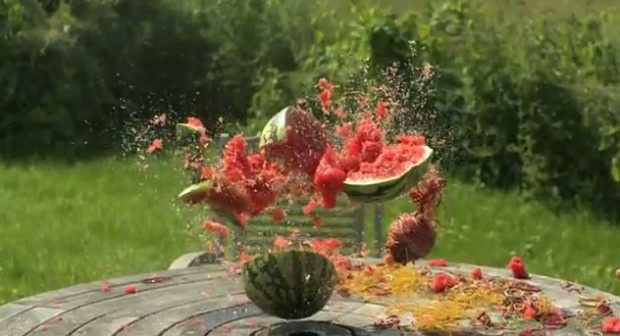 Exploding Watermelon Using Rubber Bands Kids Pinterest
