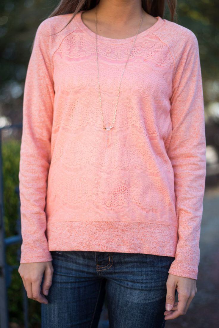 Give Love Top, Coral - The Mint Julep Boutique