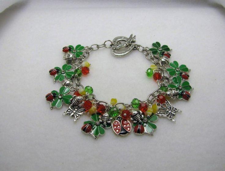 LADY BUG LADY BUG - Jewelry creation by Linda Foust