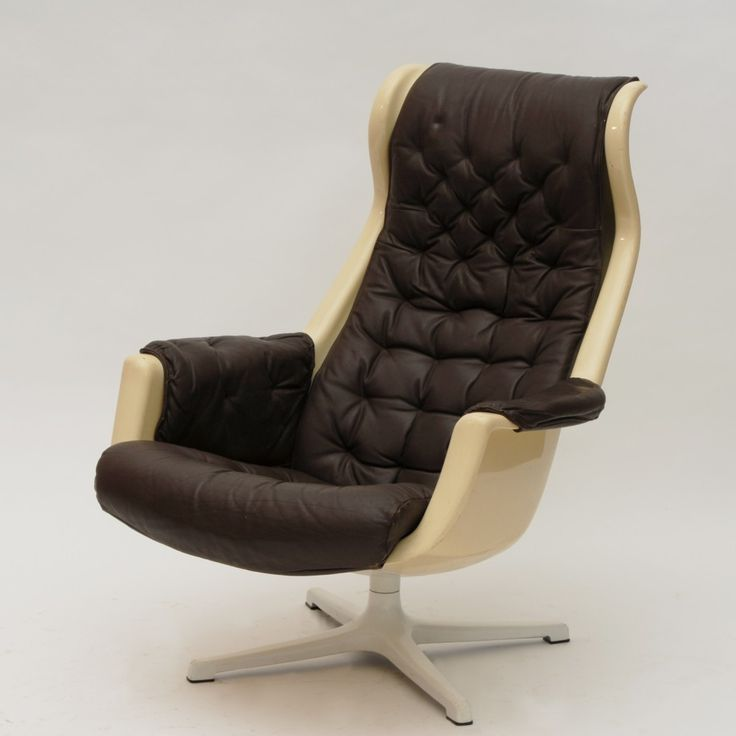 Recently Sold: Galaxy Lounge Chair From The Sixties By Alf Svensson U0026  Yngvar Sandström For Dux