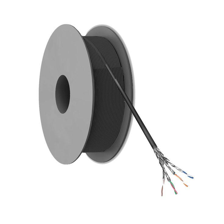 CAT 6 S/FTP Netwerkkabel op rol - Buitengebruik - 100 meter
