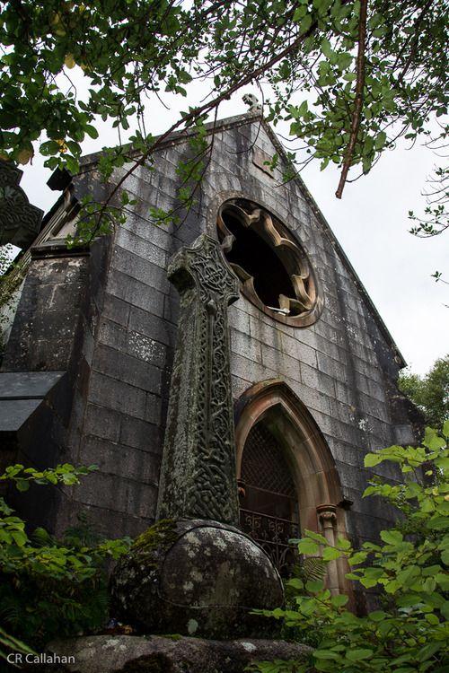 Abandoned crypt near Ft. William, Scotland.