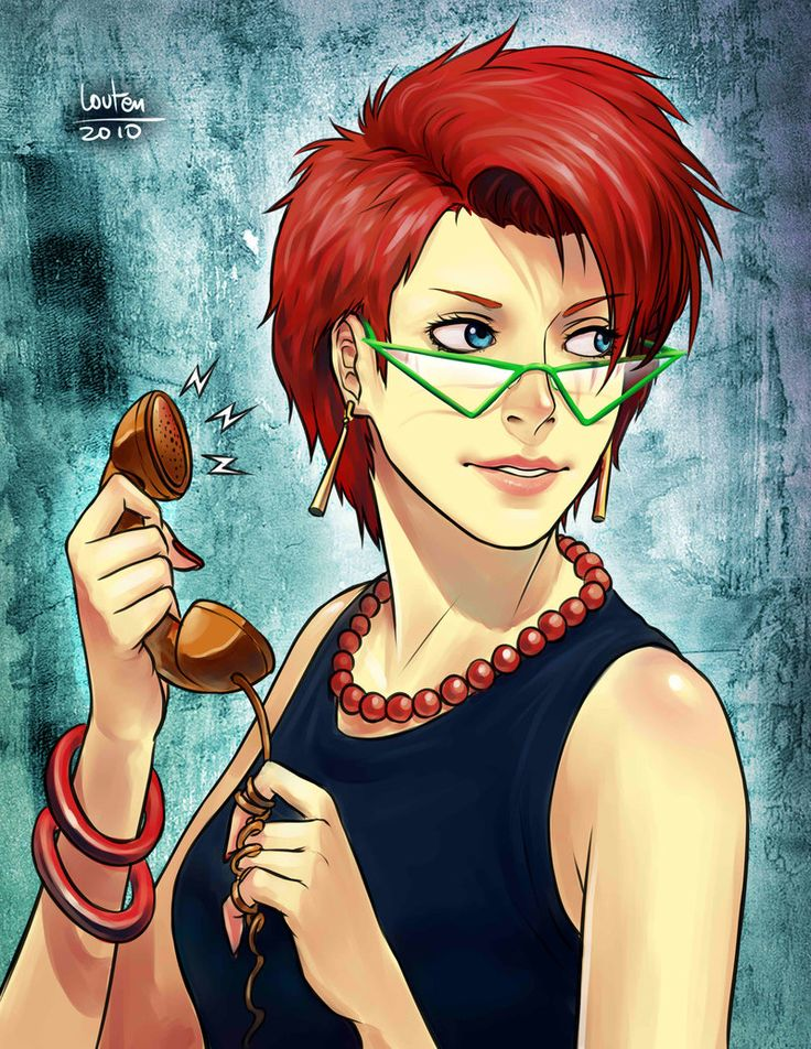 Janine Melnitz (The Real Ghostbusters) - Commission by louten.deviantart.com on @deviantART