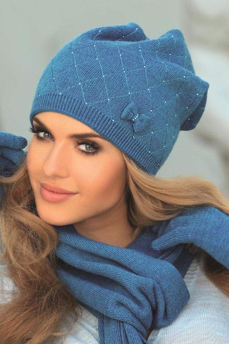 Piękne czapki Kamea <3 || kontri.pl   #kamea #czapki #zima #kontri #kobieta