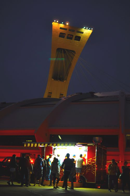 Food trucks at Stade Olympique #montreal #foodtruck