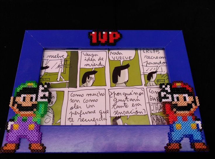 Pixel Art – Mario y Luigi |