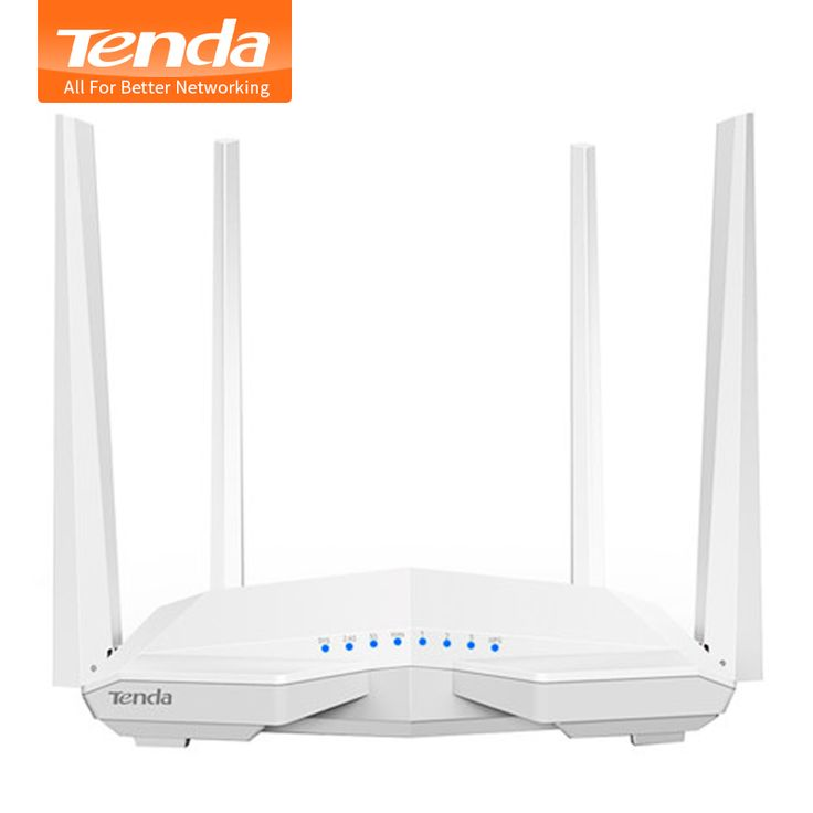 Tenda AC6 1200 Mbps Inteligente Dual-Band 802.11AC 2.4G/5.0 GHz Sem Fio Gigabit Router Wi-fi Repetidor Wi-Fi, APLICATIVO para Gerenciar, Firmware Inglês