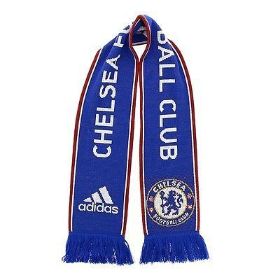 ADIDAS CHELSEA FC SUPPORTERS SCARF 2015/16