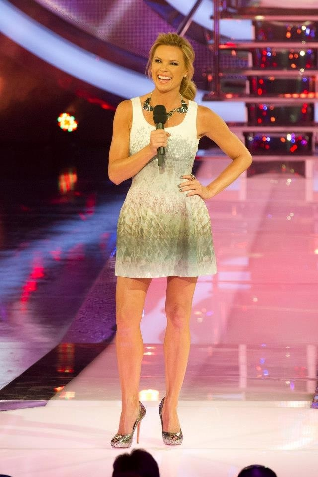 SONIA KRUGER looked amazing on  Big Brother Australia last week - and ALEXANDER McQUEEN heels to complete the look from COSMOPOLITAN SHOES, Double Bay, Sydney.  TEL:  (02) 9362 0510, TWITTER: @CosmoShoesAU Cosmopolitanshoes.blogspot.com.au