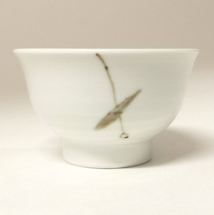 Korean porcelain teacup bamboo – zen tea