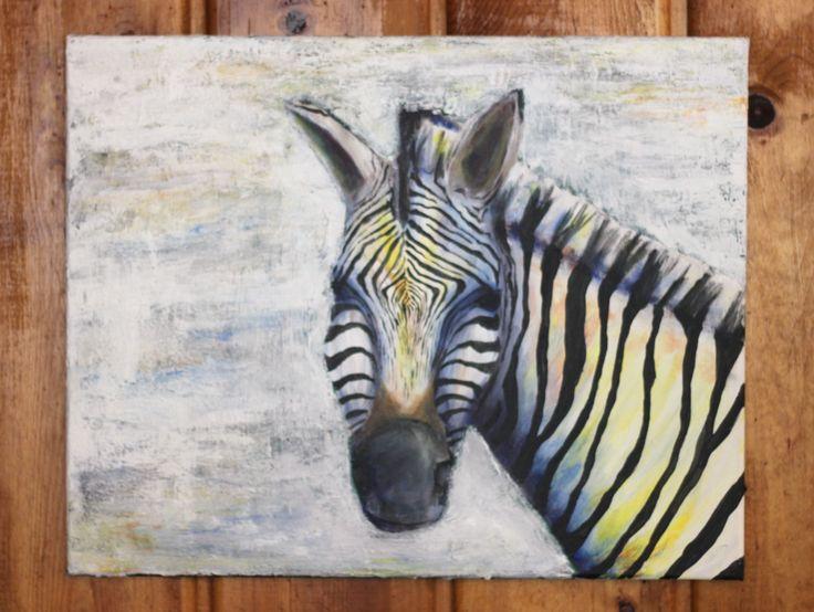 Zebra Painting!