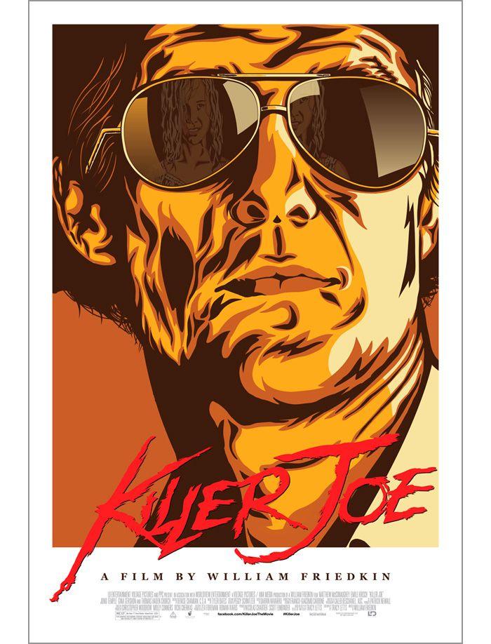 Alternative movie poster for Killer Joe by Greg Bunbury